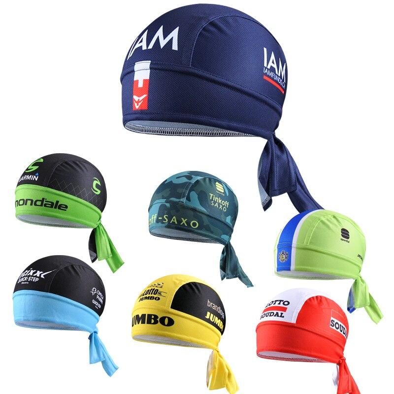 Cycling Cap Sweatproof Sunscreen Headwear Bike font b Team b font Scarf Coif Bicycle Bandana Pirate