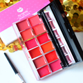 New Brand High Quality 12 Colors Style Lip Gloss Moisturizer Makeup Nutritious Matte Lipgloss Lips Cream Palette  M02172