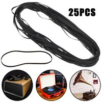 LEORY 25PCS 172x5x0 6 Rubber Turntable Belt Wholesale LP Phonograph Belt Fit For PIONEER Record Player