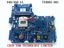 Original FOR HP 450 440 G1 Laptop Motherboard 734085-601 48.4YW05.011 HM87 chipset 100% tested Mainboard 90Days Warranty