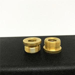 Image 3 - Jadkinsta 50PCS 5/8 to 3/8 Tripod Screw Microphone Screw Adapter Brass Mic Adapter Studio Accessories