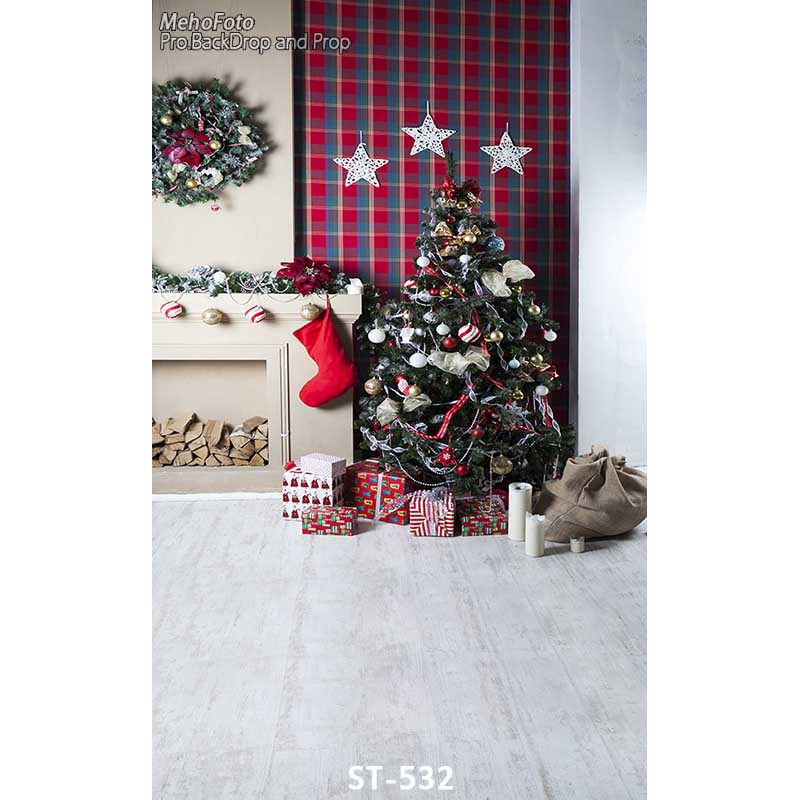Christmas Theme photography backgrounds Vinyl cloth Photography Backdrops computer printing backdrops for photo studio ST-532 photo old master backdrops photography vinyl backgrounds 2015 promotions computer paint 10ftx15ft foldable