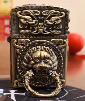 LSDL  watch video 100% handmade Zpo insert  lion  beass lighter Twelve zodiac  can runningLSDL  watch video 100% handmade Zpo insert  lion  beass lighter Twelve zodiac  can running