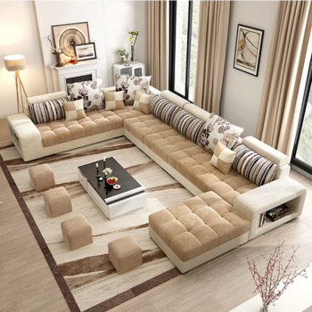 Hot-sale cheap price fabric sofa sets