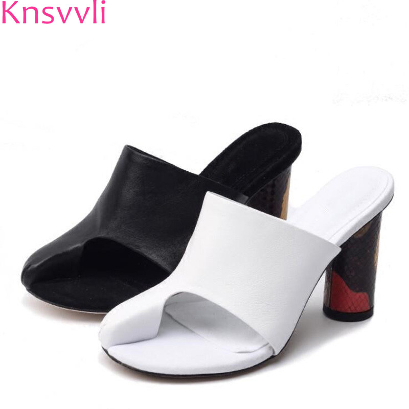 Genuine leather Split toe Pink High heel slippers Women wrap toe Crossover Female Runway Shoes Flip Flops Slides high heel mules woman shoes 6cm high heel slippers women pointed toe ladies female slides platform slippers hollow fashion mules shoes flip flop