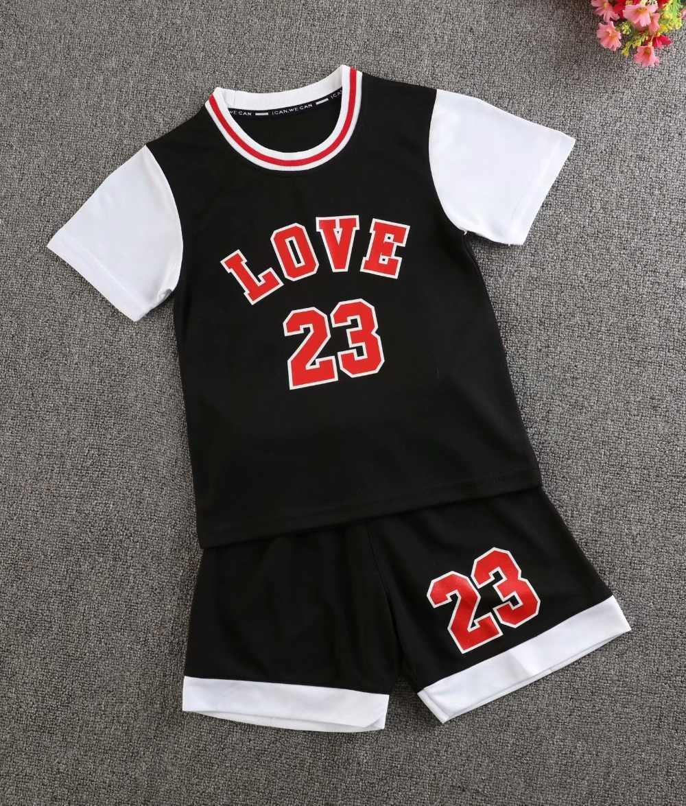 Kinder Basketball Trikots Sets Kinder Blank Basketball Jugend Sport Kits Jungen Laufen Uniformen Training Trikots Shorts Sets