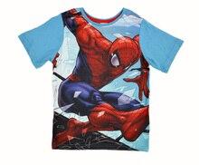 2015 boys' t shirt novelty clothes Spiderman captain america iron man assemble series children t shirt camiseta infantil menina