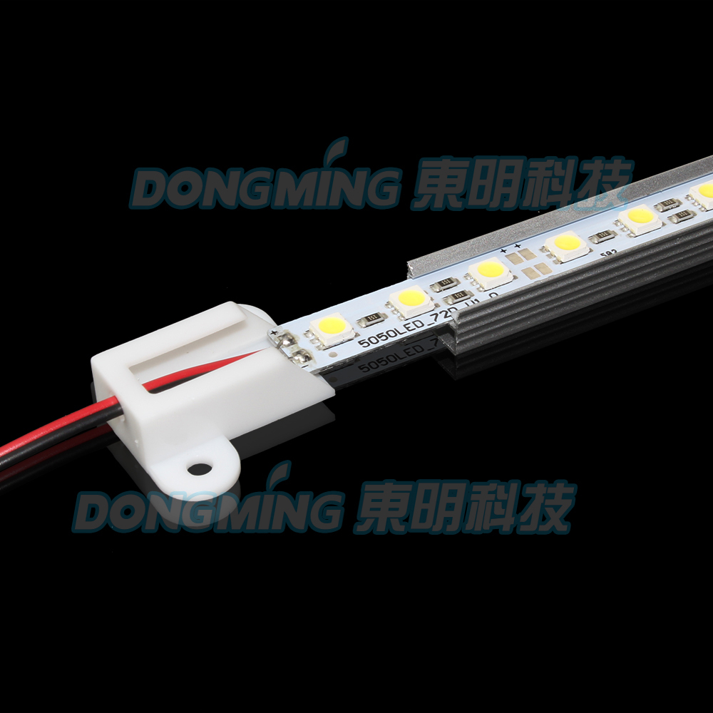 10pcs Lot 5050SMD LED Rigid Strip 50cm 36Leds aluminum profile U Type AL Shell LED font