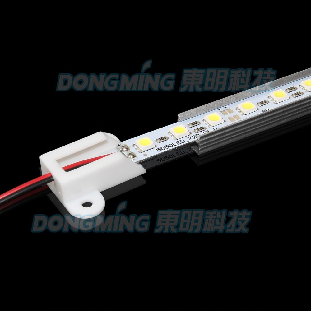 10pcs Lot 5050SMD LED Rigid Strip 50cm 36Leds aluminum profile U Type AL Shell LED font