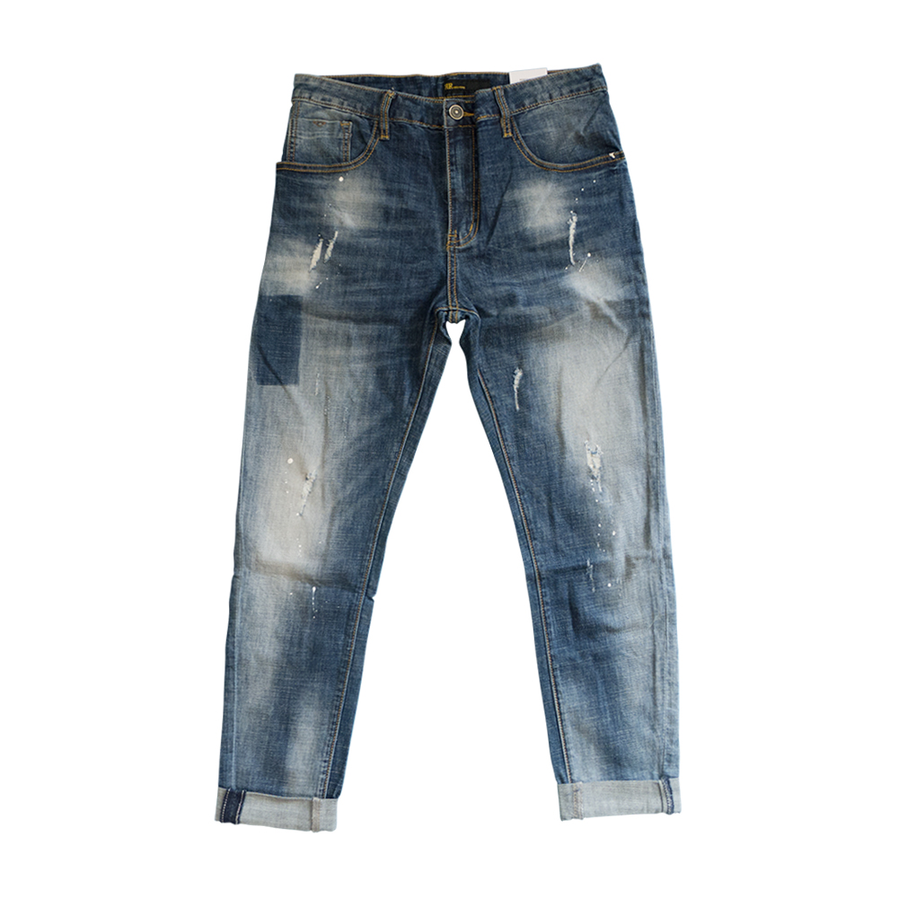 2017 New Arrivals Fashion Blue Jeans Men Cotton Elastic Breathable Casual Denim Pants For Men Slim Fit skinny Jeans Male men s cowboy jeans fashion blue jeans pant men plus sizes regular slim fit denim jean pants male high quality brand jeans