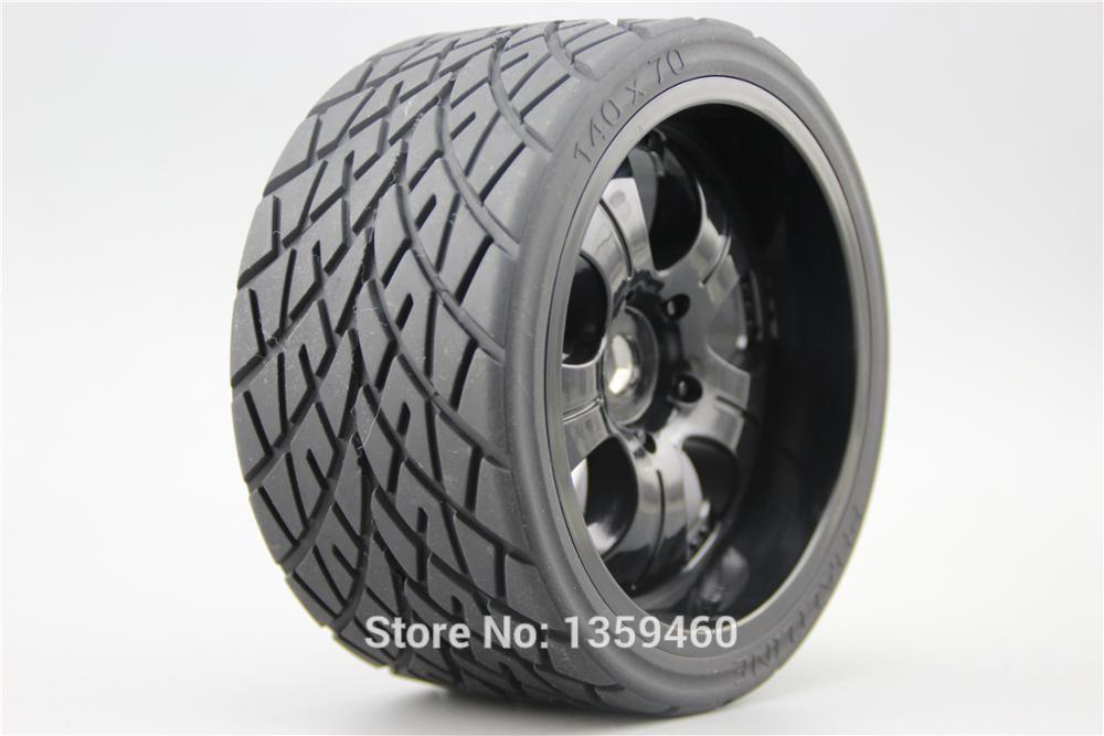 4pcs RC 1 8 Monster Truck On Road Wheels Tire Set Tyre For HPI Traxxas 17mm