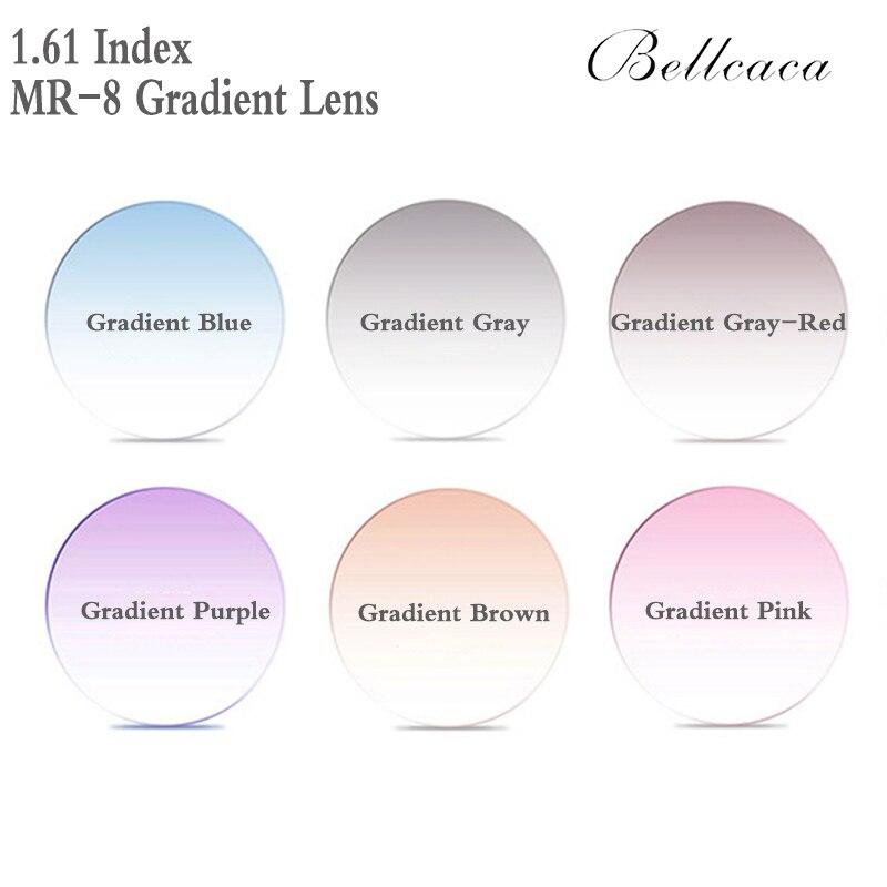 1.56 1.61 1.67 indice asphérique dégradé optique lentille de Prescription myopie presbytie recette lunettes lentille Protection UV FT0009