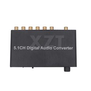 1PCS 5.1CH Digital Audio Decoder SPDIF Coaxial RCA DTS NEW AC3DST 5.1 Amplifier for PS4 player DC 5V