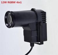 CREE 10W RGBW 4 In1 DJ Stage Spot Effect Led Pinspot DMX 512 Control Mini Spotlight