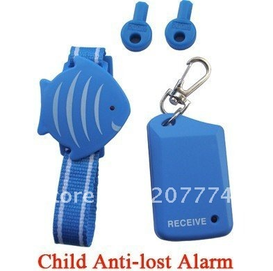 Free shipping Wireless child anti-lost alarm, by manufacturer, CE/RoHS standard with Loud alarm for everyone nearby to hear.