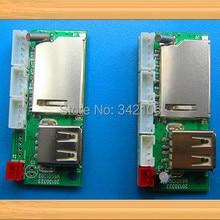 5 шт. mp3 декодер доска/завод деталя WAV MP3 модуль/можно вставить SD карты/проигрыватель usb-диска MP3/band Усилитель