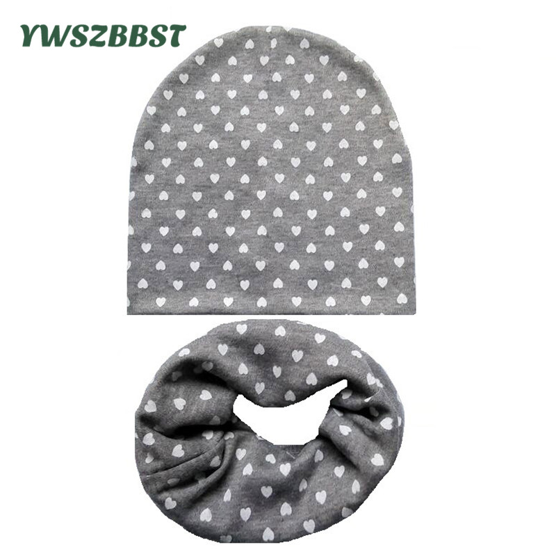 0-2Y Soft Cotton Baby Cap Infant Hats for Boys Girls Hat Autumn Winter Scarves Beanie Caps Set Kids Accessories Baby Hats