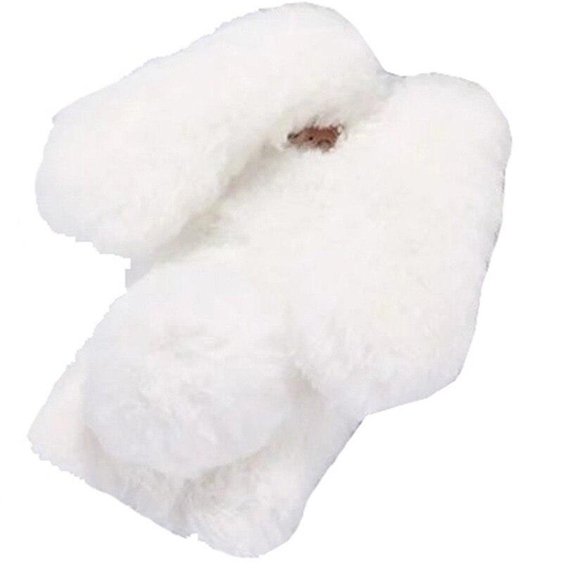 Милый маленький лук бриллиантами чехол телефона прекрасный кролик Форма чехол для iPhone 6 S плюс теплый кролик Банни волос чехол для iPhone 6 plus