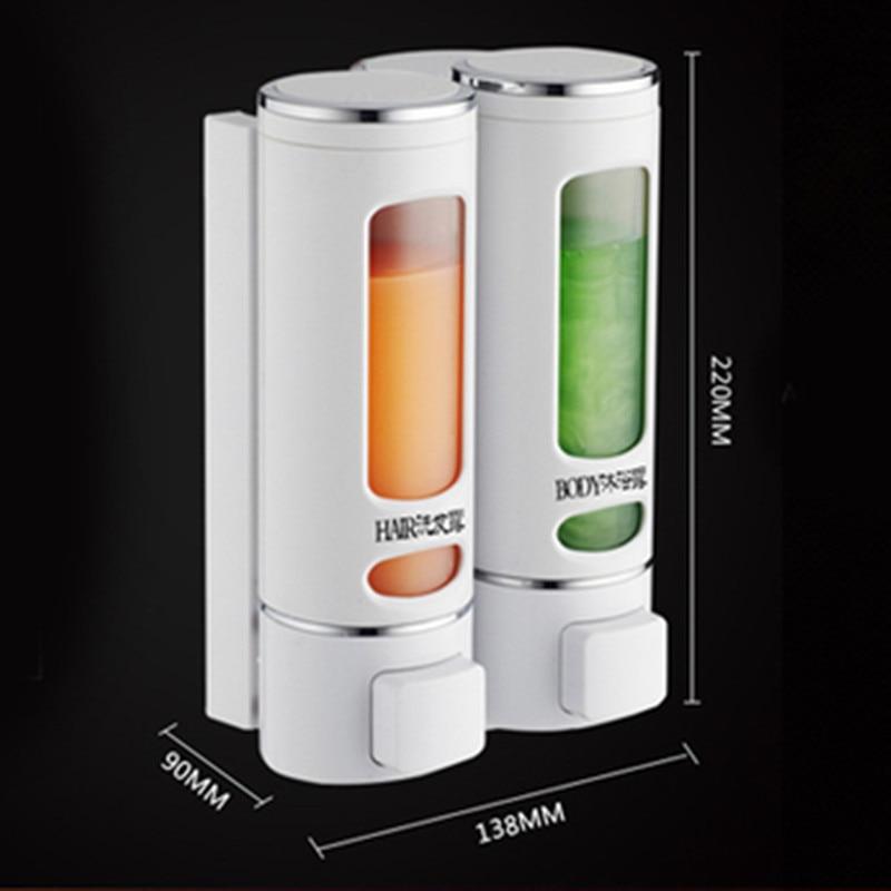 Soap Dispenser For Detergent Bathroom Wall Dispensers For Liquid Soap Shower Shampoo Hand Shower
