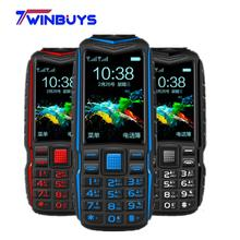 Cheap Mini Power Bank Phone KUH T3 Big voice Outdoor Shockproof Mobile Phone 2.4Inch Dual Flashlight Quick Dial Rugged Cellphone