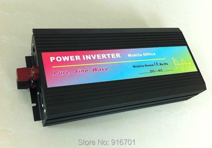 цена на sinus omvormer 2500w inverter pure sine wave max 5000w power DC 12V 24V 48V 110V to AC100V-240V for solar wind home use
