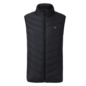 ZYNNEVA 2018 New Men Women Electric Heated Vest Heating Waistcoat Thermal Warm Clothing Feather Hot Sale Winter Jacket GC1101
