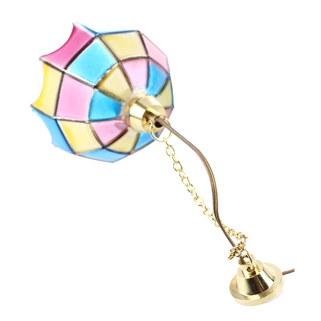 New Doll house miniature beautiful color ceiling lamp light Hanging lampsNew Doll house miniature beautiful color ceiling lamp light Hanging lamps