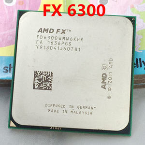 free shipping FX6300 AM3+ 3.5GHz 8MB CPU processor FX serial scrattered pieces FX-6300(China)