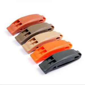 5PCS Marine Safety Whistle Outdoor Camping Hiking Boating Emergencies Siren Random Color