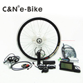 free shipping! LCD display 350w electric bike conversion kit hub motor kit for ebikes