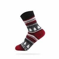 Inverno e calzini nuovi retro nazionale vento popolare femminile calze di cotone morbido e confortevole