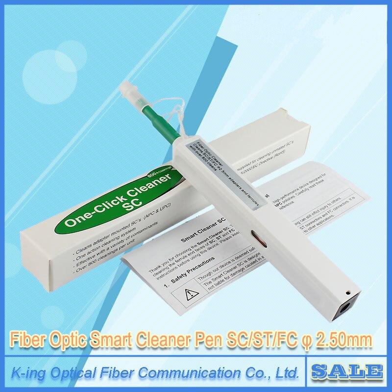 Fiber Optic-reiniger SC Einem Klick Reiniger Lwl-stecker reinigungswerkzeug 2,5mm Universal-anschluss Fiber Optic Cleaning Stift