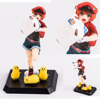 Action Figure Anime Model Red Blood Cell Dolls Decoration Collection Figurine Christmas Toys for Gifts 18cm