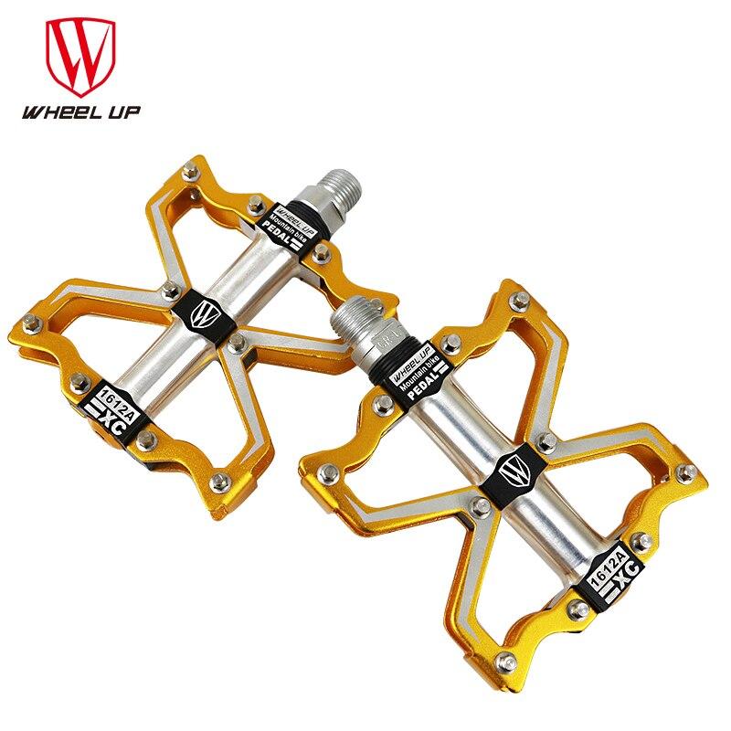 Roue UP nouveauté 3 roulements pièces de vélo en aluminium Altralight pédales Top qualité titane CNC Bmx route vélo de montagne pédales