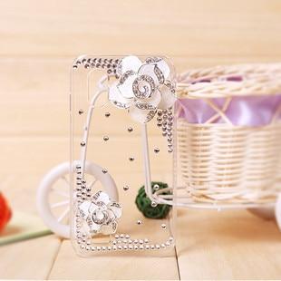 For samsung   i9003 i9100 i9260 i9082 i9070 rhinestone phone case transparent mobile phone protective case