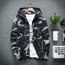 446f1bfa983e4 New Camouflage Mens Jacket Autumn Military Hoodies Army Windbreaker Hip Hop Coat  Men Long Sleeve Outwear Baseball Bomber Jackets
