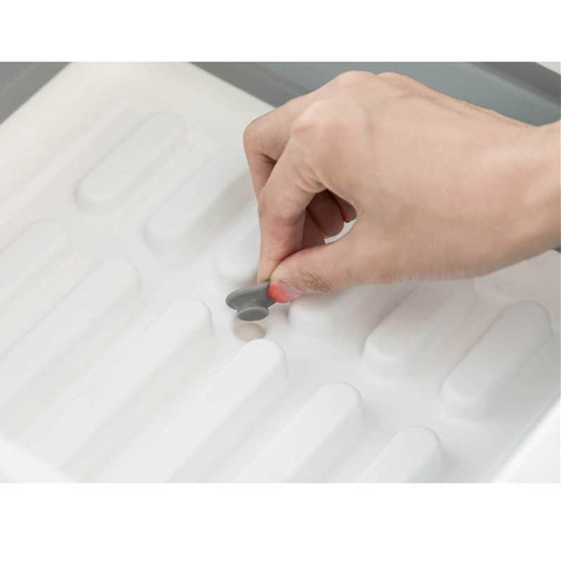 מתקפל מדף צלחת אחסון מחזיק מייבש קערת כלי שולחן צלחת נייד עצמי ייבוש מתלה אוכל ארגונית קמפינג