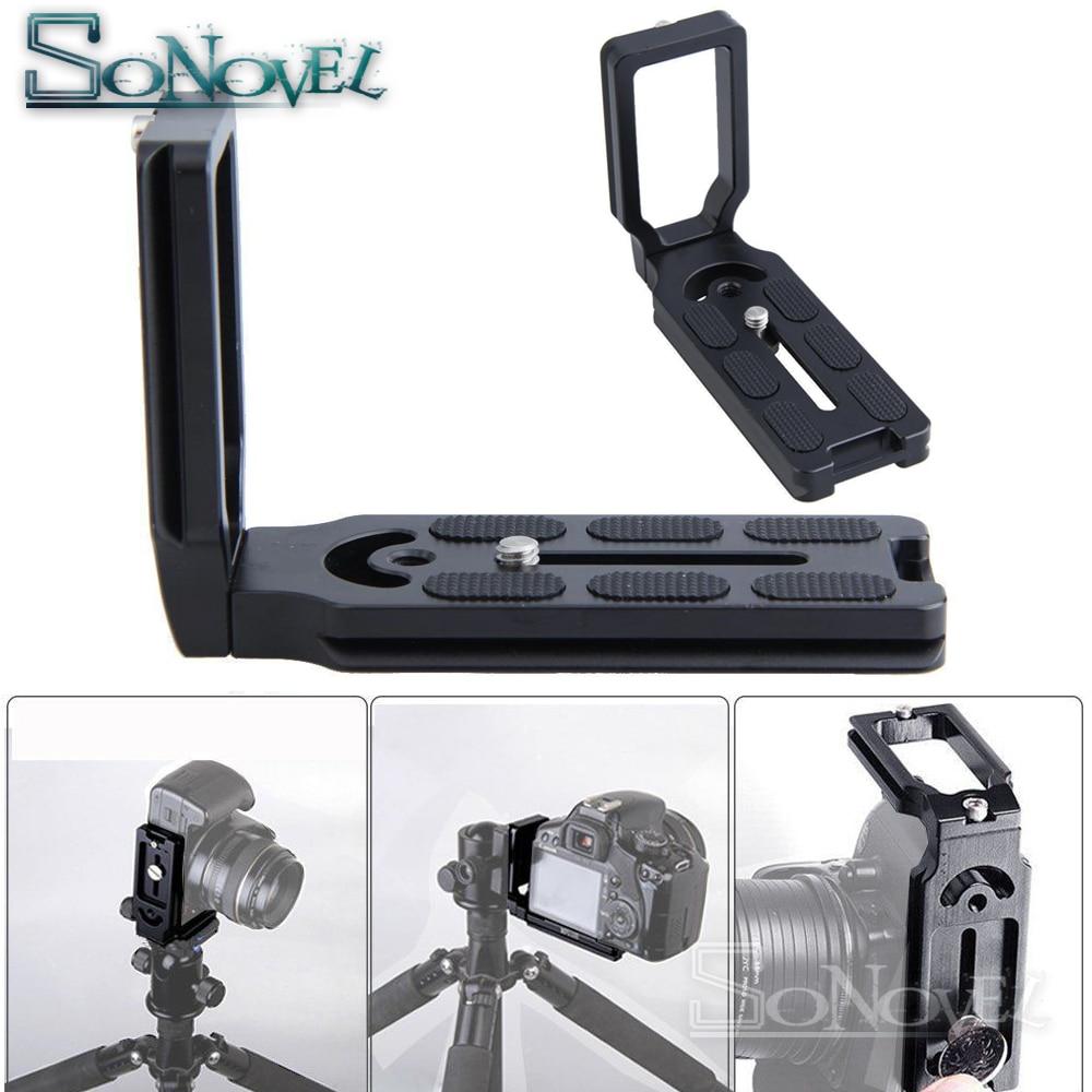 MPU105 Quick Release L Plate Bracket Grip For Canon EOS 1300D 1200D 1100D 800D 760D 750D 700D 650D 600D 80D 70D 77D 60D 7D 5Ds