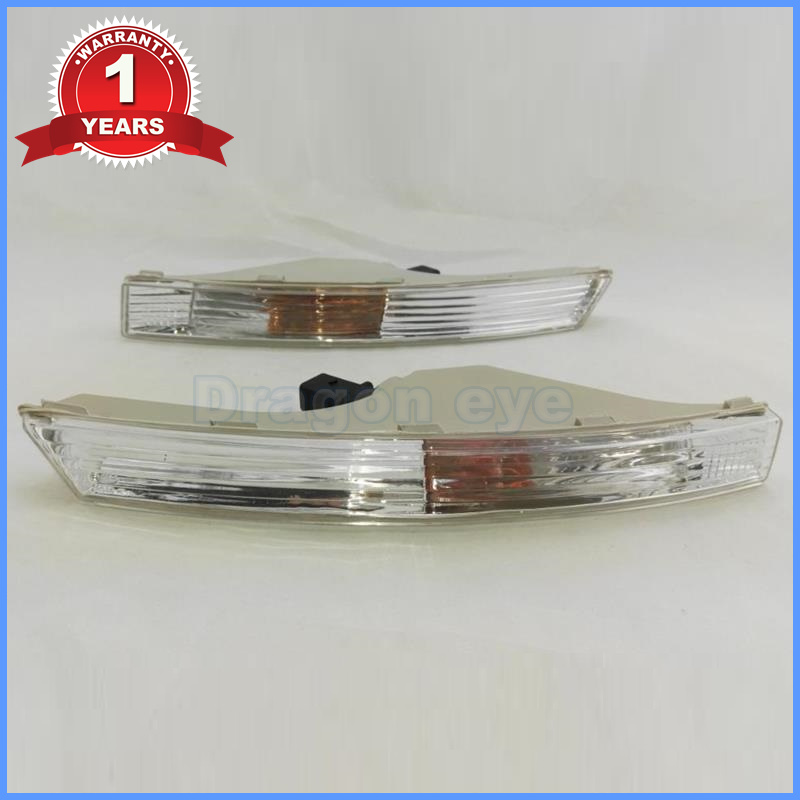 For VW Passat B6 2006 2007 2008 2009 2010 2011 New Front Bumper Turn Signal Light Lamp With Bulb 2pcs for vw passat b6 2006 2007 2008 2009 2010 2011 front high quality led fog lamp fog light