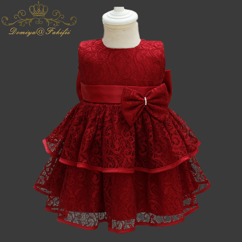 Fancy Baby Girls Kids Clothes Children Christmas Dress 2018 New Brand Girls Party Princess Dresses For Wedding vestidos infantis 2016 brand cute girls clothes summer children dresses plaid casual princess dress girls vestidos 10 old roupas infantis menina