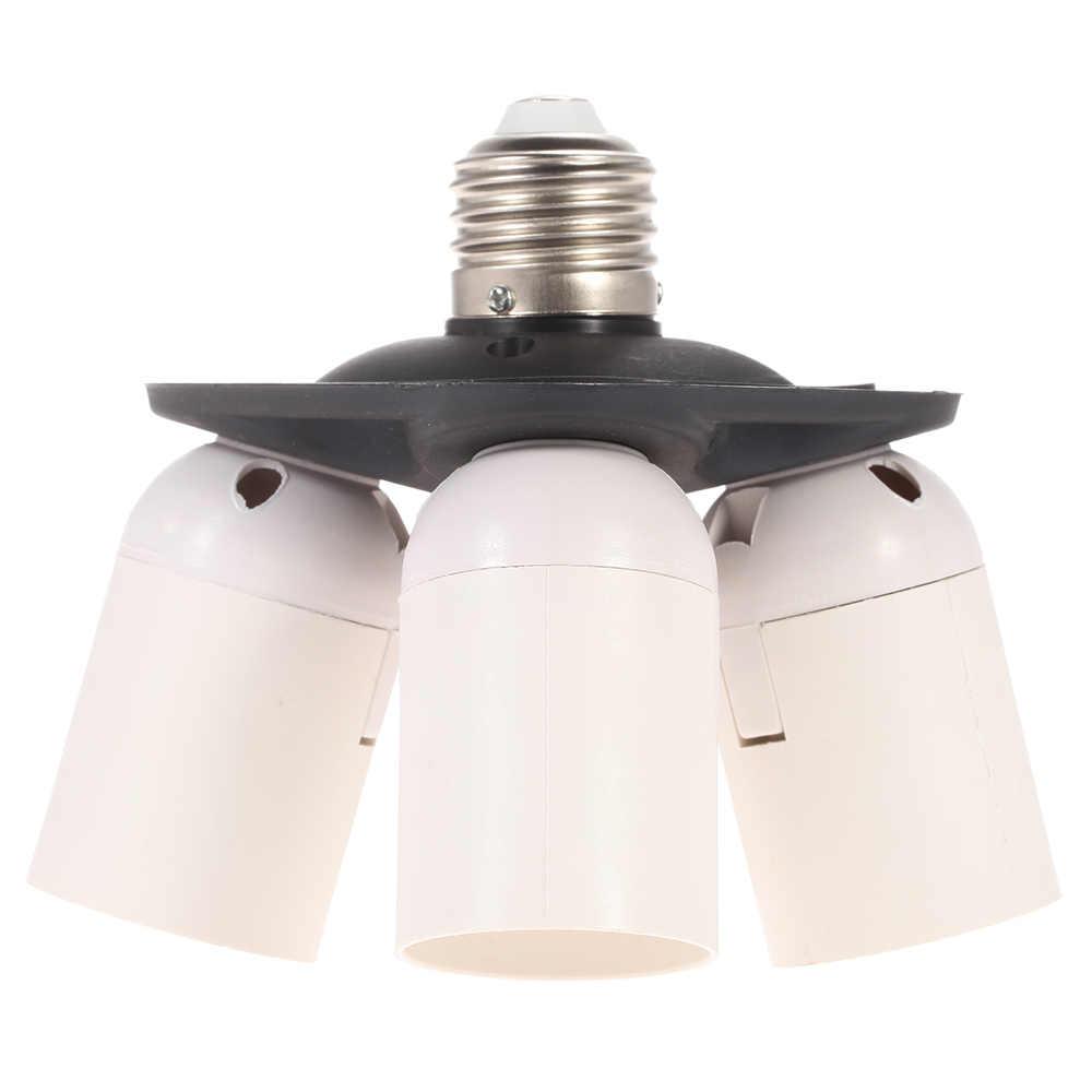 Andoer 4in1 Light Lamp Bulb Holder Adapter Splitter E27 Base Socket for Photo Video Film Studio Photography Softbox Accessories