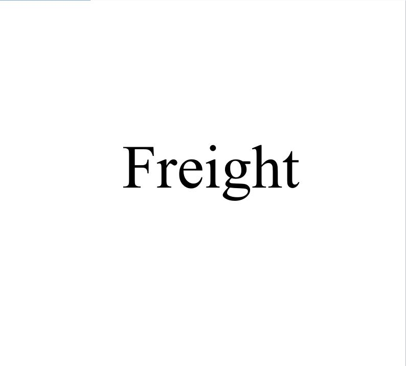 Freight order