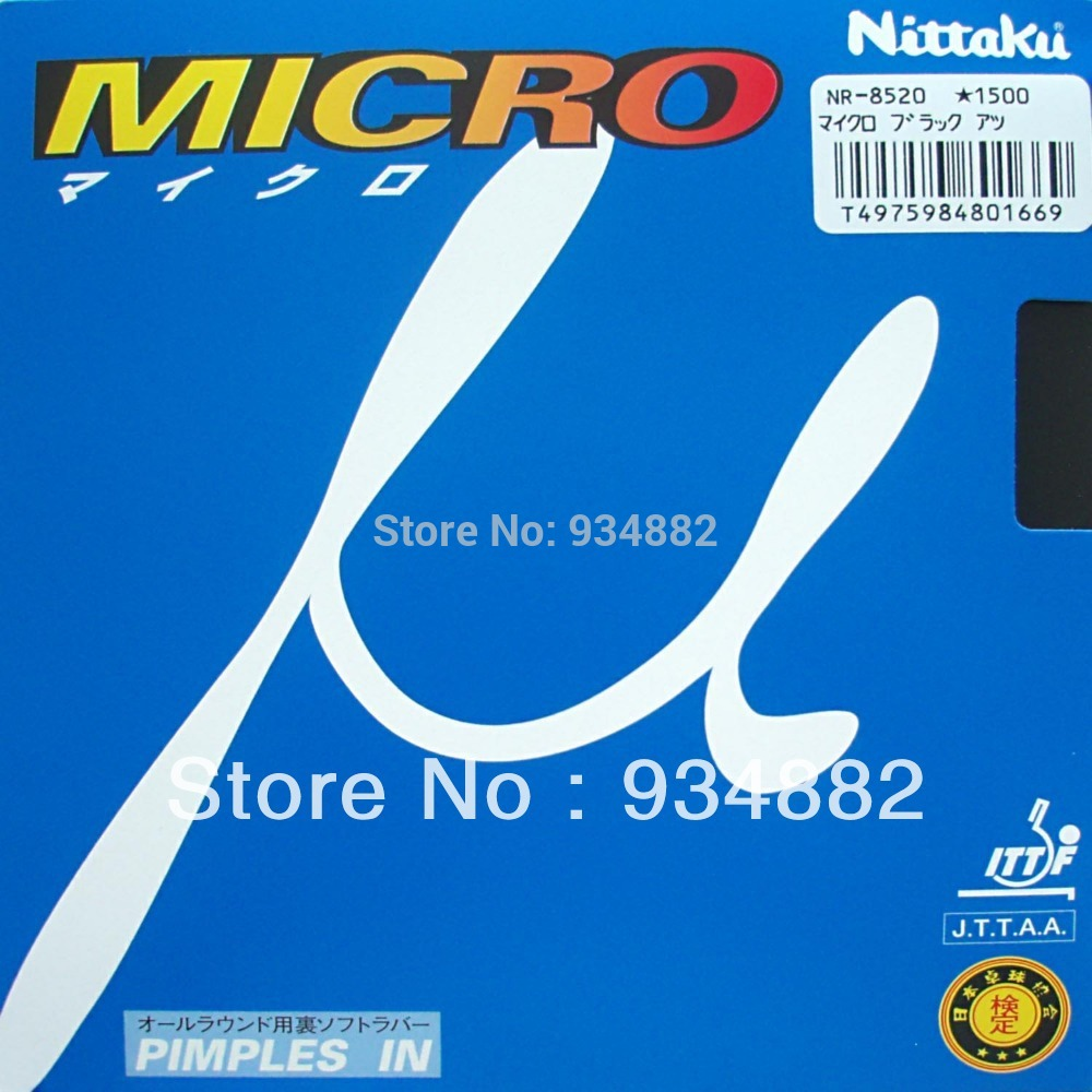 все цены на Nittaku MICRO (NR-8520, NR 8520, NR8520) Black Pips-in Table Tennis (Ping Pong) Rubber With Sponge онлайн