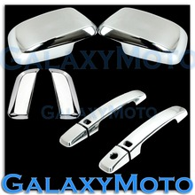 Chrome Mirror+4 Door Handle With Smart Hole Cover 2005-12 for Nissan PATHFINDER