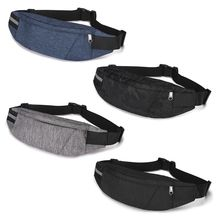 купить THINKTHENDO Fashion Waist Fanny Pack Women Men Sports Belt Zipper Waist Bag Chest Tote Purse дешево