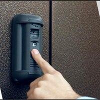 Распознавания лица HD Камера POE видео домофона Регулируемая поле зрения Вандалозащищенная IP видеодомофоны открытый