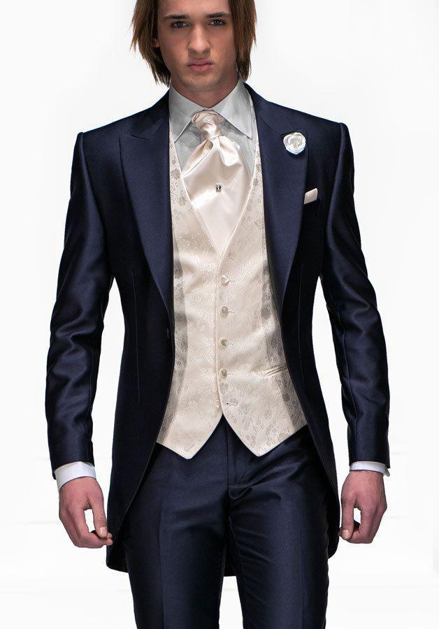Popular Slim Fit Navy Suit-Buy Cheap Slim Fit Navy Suit lots from ...
