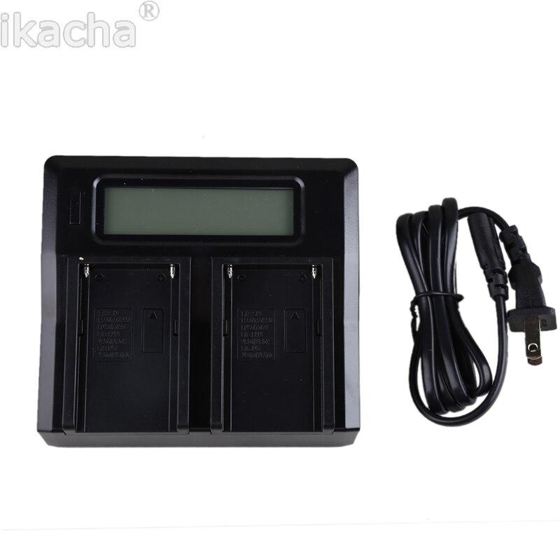 LP-E8 Numérique Chargeur De Batterie Double LCD Pour Canon EOS 550D 600D 650D 700D Rebelles T2i T3i T4i T5i