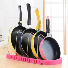 Four Layers Adjustable Storage Pot Racks Multifunctional Storage Racks For Kitchen room Storage Holders Save Space