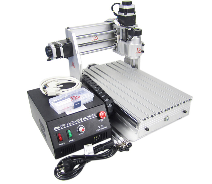 Hot sale mini CNC router 3020T-DJ CNC engraving machine with black control box for wood pcb plastic carving and milling acctek hot sale cnc router machine akg6090 6012 for wood stone metal mini cnc router engraving machine for copper